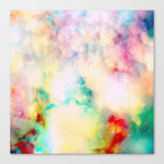 Fume Color Splash 03 Canvas Print