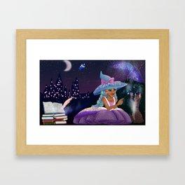 Magical night Framed Art Print