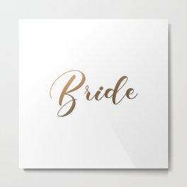 Bride Metal Print