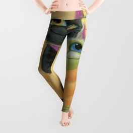 cat play Leggings