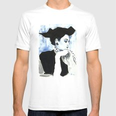 Estelle Mens Fitted Tee White SMALL