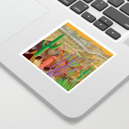 Desert City Phoenix Sticker