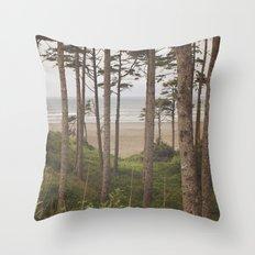 Dreamy Ocean Throw Pillow