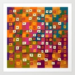Nazca Pop Art Print