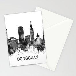 Dongguan China Skyline BW Stationery Cards