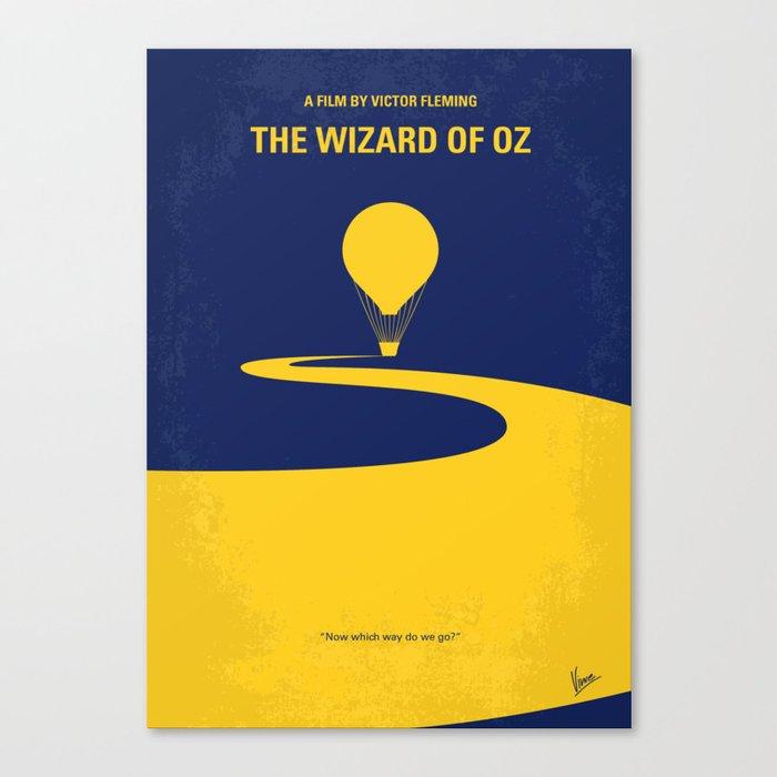 No177 My Wizard minimal movie poster OZ Canvas Print