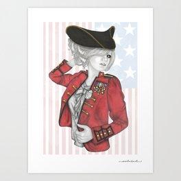 American Revolution Art Print