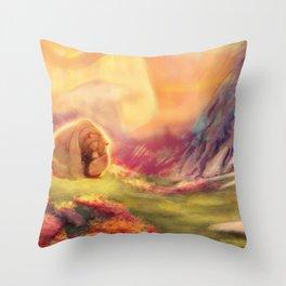 I Love You, Koda Throw Pillow