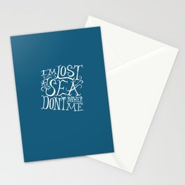 Lost at Sea Stationery Cards