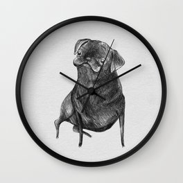 Le Carlin Noir Wall Clock