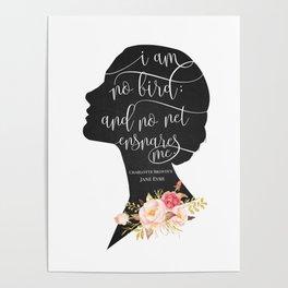 I am no Bird - Charlotte Bronte's Jane Eyre Poster
