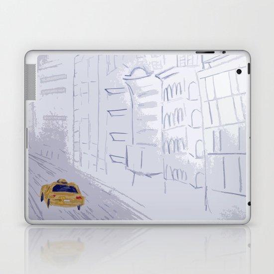 Taxi City Laptop & iPad Skin