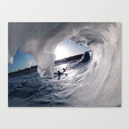 White Cave Canvas Print