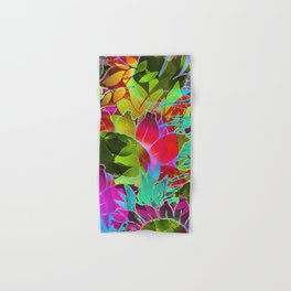 Floral Abstract Artwork G125 Hand & Bath Towel