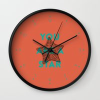 You are a star Wall Clock