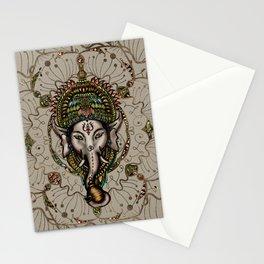 Lord Ganesha - Canvas Lord Ganesha - Canvas Stationery Cards