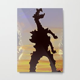 wawel dragon Cracow Metal Print