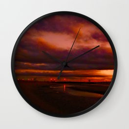 The Docks Wall Clock