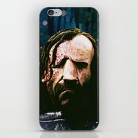 the hound iPhone & iPod Skins featuring THE HOUND by Chewgowski