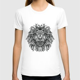Hand drawn lion illustration print / poster T-shirt