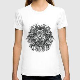 Hand drawn lion illustration print / poster T-shirt