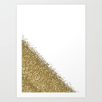 glitter Art Prints featuring Glitter by lescapricesdefilles
