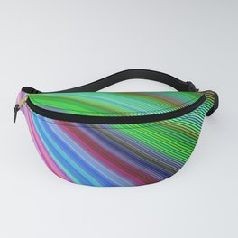 Striped Vortex Fanny Pack