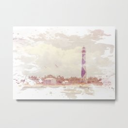 Summertime at the Cape Metal Print