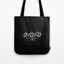 The Weeknd OvOXO Drake Logo Tote Bag