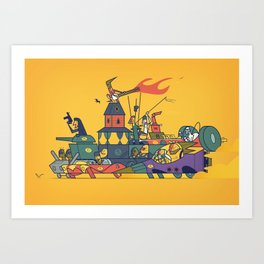Wacky Max Art Print