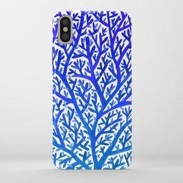 Fan Coral – Blue Ombré iPhone Case