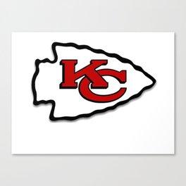 Kansas Chiefs Canvas Print