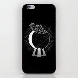 Waning Crescent iPhone Skin