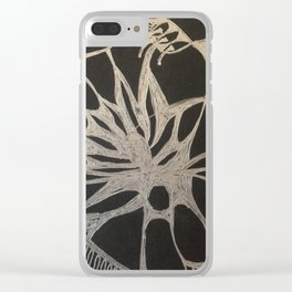 Radiant Lotus Clear iPhone Case