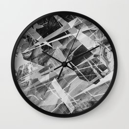 Marble X Wall Clock