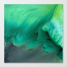 Teal Storm Canvas Print