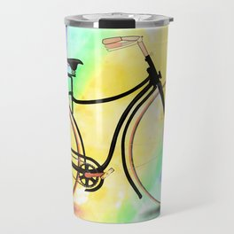 Pedal-driven beauty Travel Mug