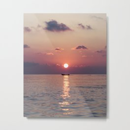 Gorgeous Ocean Sunset Metal Print