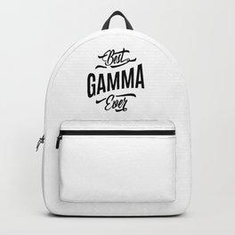 Womens Gamma Tee Gift: Best Gamma Ever Backpack