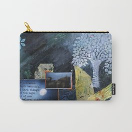 Beautiful and Dark Carry-All Pouch