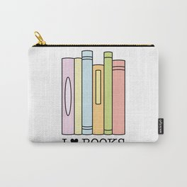 I love books ! Carry-All Pouch
