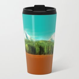 Watzmann panorama Travel Mug