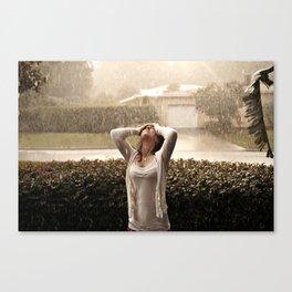 Afternoon Rain Canvas Print