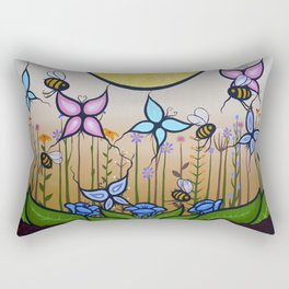 Kokum's Garden Rectangular Pillow