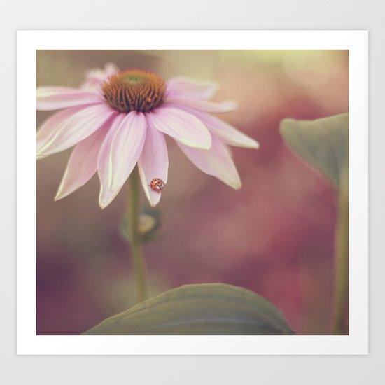 Ladybug Love Art Print