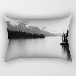 Maligne Lake   Landscape Photography   Alberta   Canada Rectangular Pillow