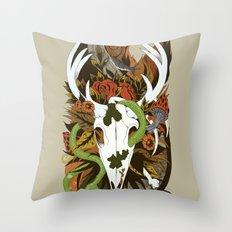 Nature Thrives Throw Pillow
