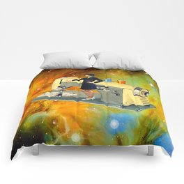 Barbara's Spaceship Comforters