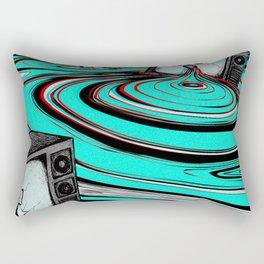 Lake of Static Rectangular Pillow