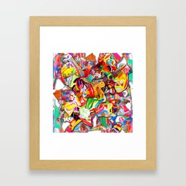 #connect collage 2016 Framed Art Print